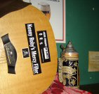 Nathan's guitar and beer stein