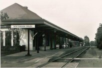 Southern Pines, NC, train station